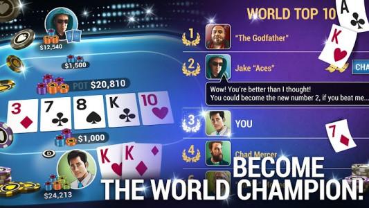 اسکرین شات بازی Poker World - Offline Texas Holdem 3