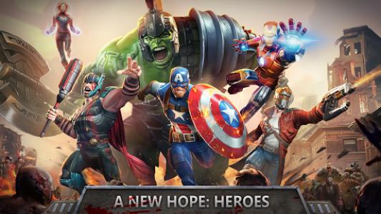 اسکرین شات بازی Avengers Wars: Heroes VS Zombies 4