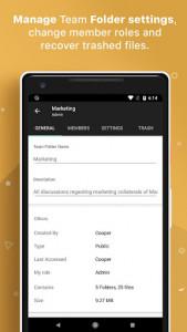اسکرین شات برنامه Zoho WorkDrive 6