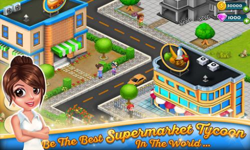 اسکرین شات بازی Supermarket Tycoon 1