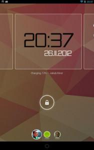 اسکرین شات برنامه ClockQ - Digital Clock Widget 5