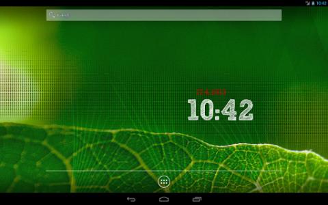 اسکرین شات برنامه ClockQ - Digital Clock Widget 8