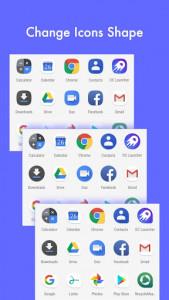 اسکرین شات برنامه DC Launcher - Android Oreo Style, Fast & Simple 4