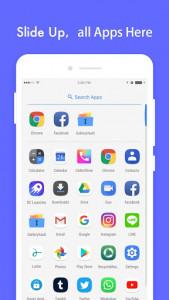 اسکرین شات برنامه DC Launcher - Android Oreo Style, Fast & Simple 2