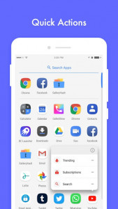 اسکرین شات برنامه DC Launcher - Android Oreo Style, Fast & Simple 3