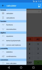 اسکرین شات برنامه Mathematics 1