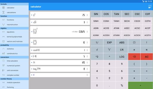 اسکرین شات برنامه Mathematics 7
