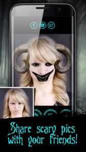 اسکرین شات برنامه Devil Face Camera 6