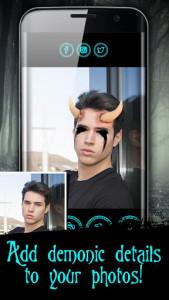 اسکرین شات برنامه Devil Face Camera 5