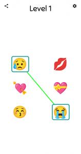 اسکرین شات بازی Emoji Match - Challenging Emoji Puzzle Game 1