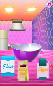 اسکرین شات بازی آشپزی پخت کیک پرنسس 2