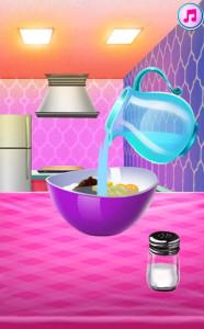 اسکرین شات بازی آشپزی پخت کیک پرنسس 3