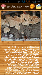 اسکرین شات برنامه پرورش قارچ در منزل 4