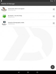 اسکرین شات برنامه WebSite X5 Manager 6