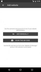 اسکرین شات برنامه WebSite X5 Manager 3