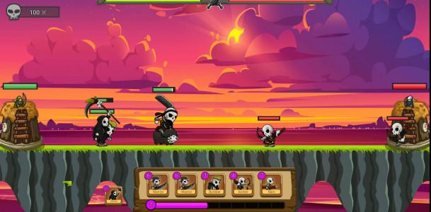 اسکرین شات بازی نبرد ارواح 1