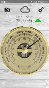 اسکرین شات برنامه Barometer pro - free 1