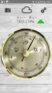 اسکرین شات برنامه Barometer pro - free 8
