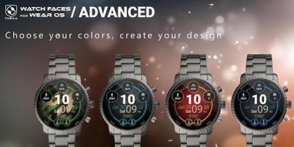 اسکرین شات برنامه Advanced Watch Face & Clock Widget 2