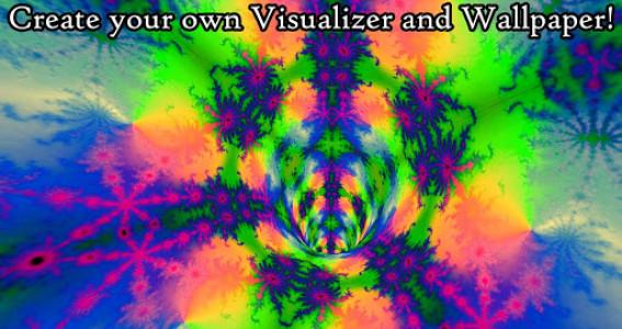 اسکرین شات برنامه Fractal Tunnels -Music visualizer & Live Wallpaper 3