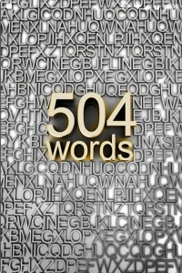 اسکرین شات برنامه 504 لغت ضروری   آموزش زبان انگلیسی   1100 لغت 1