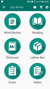 اسکرین شات برنامه 504 لغت ضروری   آموزش زبان انگلیسی   1100 لغت 6