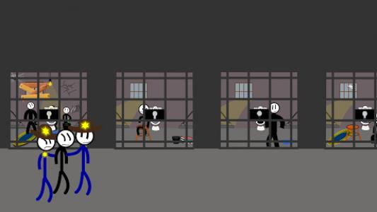 اسکرین شات بازی Stickman Jailbreak 5 : Funny Escape Simulation 4
