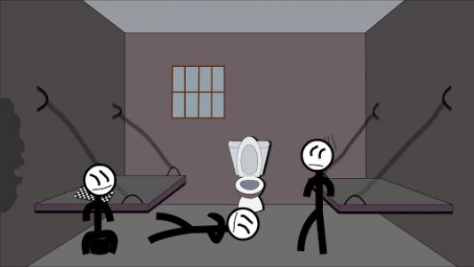اسکرین شات بازی Stickman Jailbreak 5 : Funny Escape Simulation 6