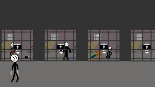 اسکرین شات بازی Stickman Jailbreak 5 : Funny Escape Simulation 7