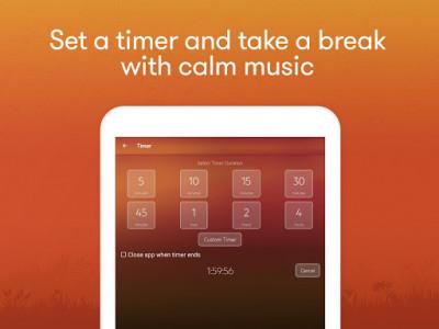 اسکرین شات برنامه Meditation & Relaxation Music: Calm Sleep Sounds 8