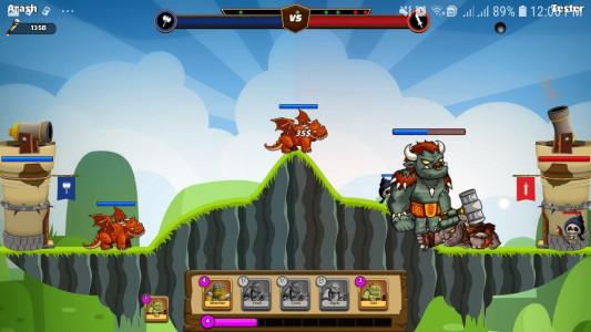 اسکرین شات بازی نبرد غول ها 2
