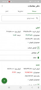 اسکرین شات برنامه دفتر معاملات بورس|اخبار و تحلیل 2