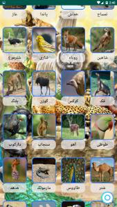 اسکرین شات برنامه صدای حیوانات+ترانه های کودکانه 3