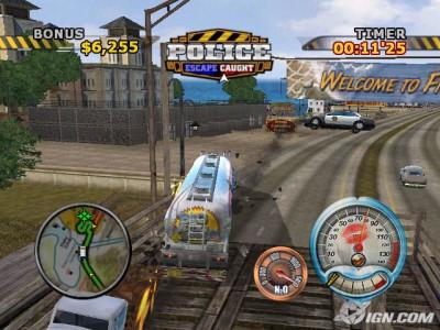 اسکرین شات بازی کامیون سواران در جاده 4