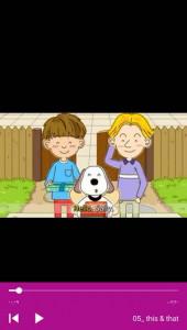 اسکرین شات برنامه آموزش مکالمه زبان انگلیسی به کودکان 10