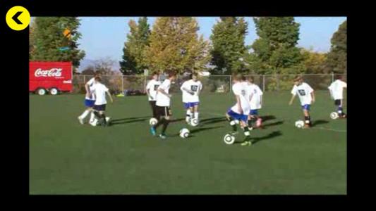 اسکرین شات برنامه آموزش تمرینات و مهارت های فوتبال 4