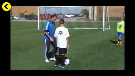 اسکرین شات برنامه آموزش تمرینات و مهارت های فوتبال 5
