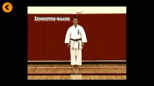 اسکرین شات برنامه آموزش کاراته 3