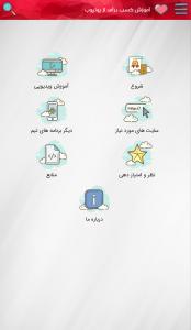 اسکرین شات برنامه آموزش کسب درآمد از یوتیوب 2
