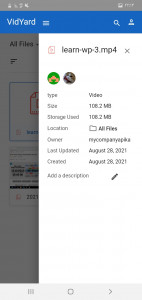 اسکرین شات برنامه ویدیارد 9