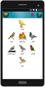 اسکرین شات برنامه دنیای پرندگان 7