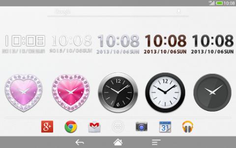 اسکرین شات برنامه Me Clock widget 2 - Analog & Digital 6