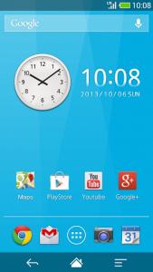 اسکرین شات برنامه Me Clock widget 2 - Analog & Digital 2