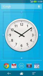 اسکرین شات برنامه Me Clock widget 2 - Analog & Digital 3