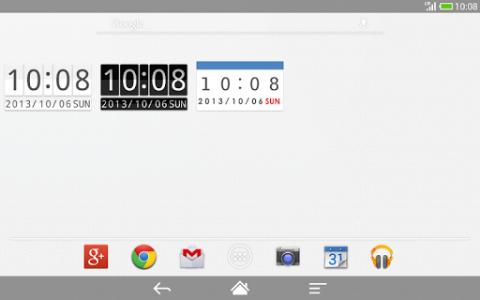 اسکرین شات برنامه Me Clock widget 2 - Analog & Digital 7