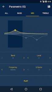 اسکرین شات برنامه Alpine TuneIt App 3
