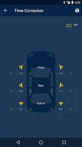 اسکرین شات برنامه Alpine TuneIt App 5