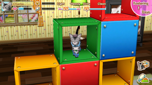 اسکرین شات بازی My Cat My Room 1