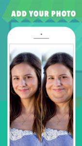 اسکرین شات برنامه Fatify - Make Yourself Fat App 1