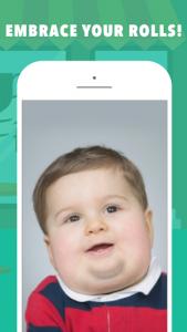 اسکرین شات برنامه Fatify - Make Yourself Fat App 5